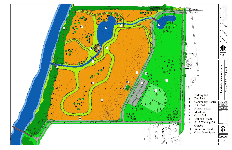 Preliminary plan - Ballville Chudzinski-Johannsen Park