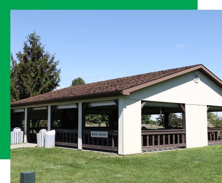 Ballville township park shelter house