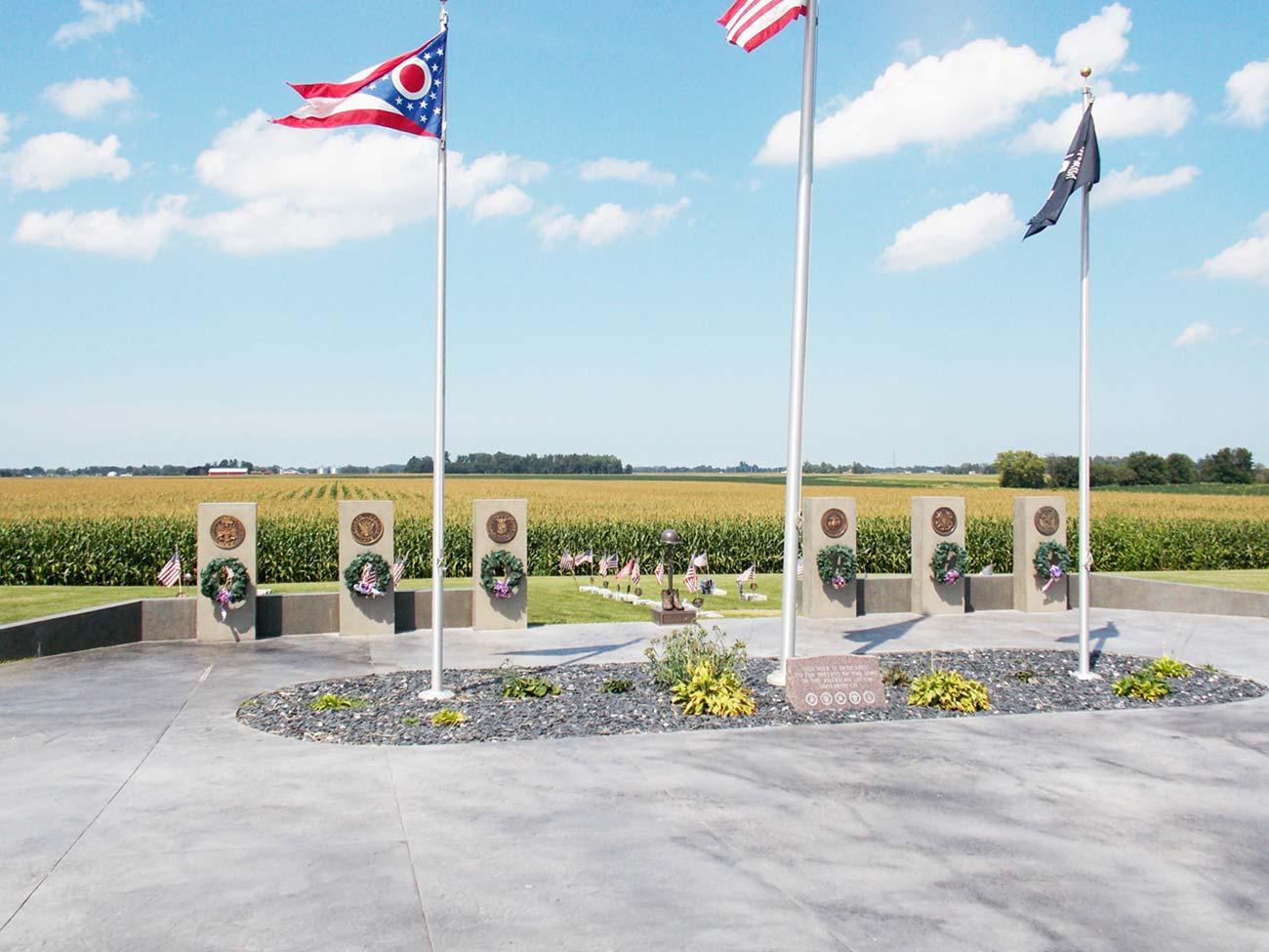 Ballville Township - Military-Cemetery